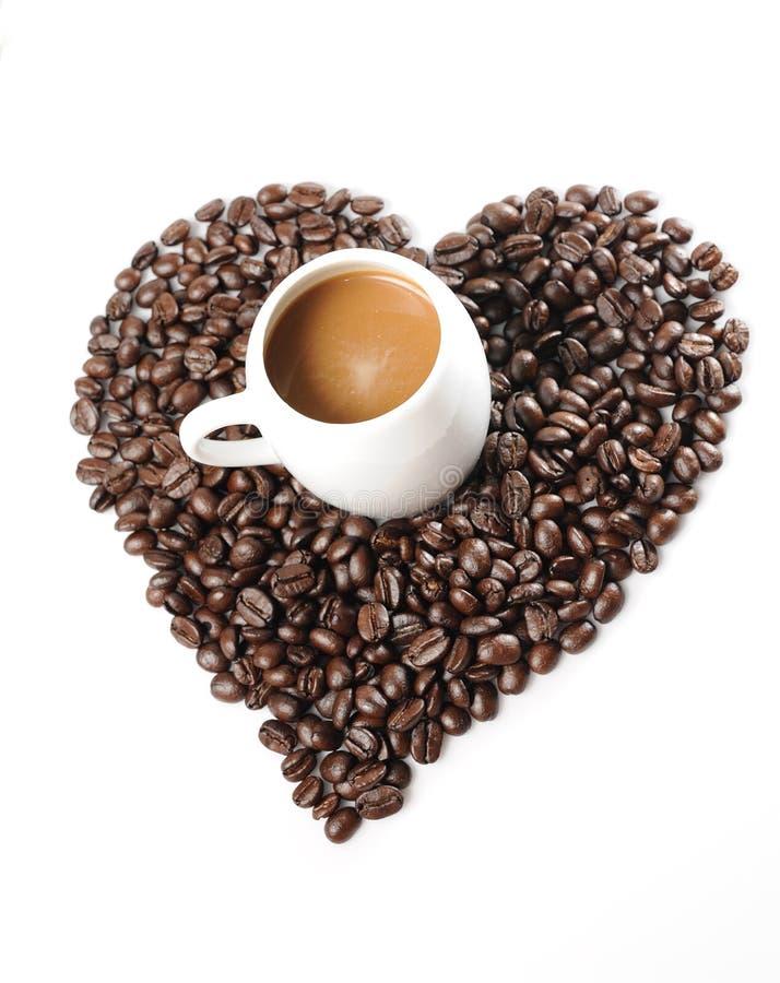 Download φλυτζάνι καφέ φασολιών στοκ εικόνα. εικόνα από χρώμα - 17054251