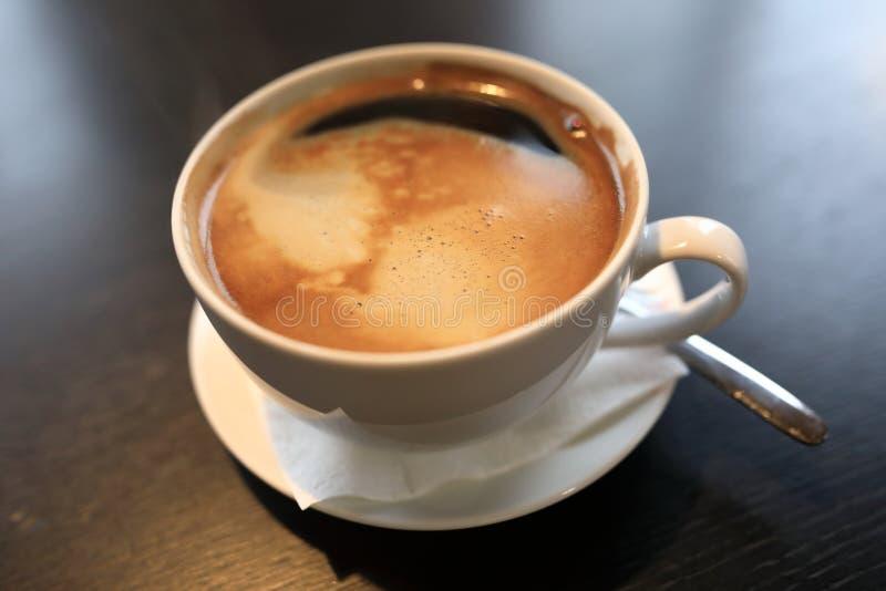Φλυτζάνι του καφέ americano στοκ φωτογραφία με δικαίωμα ελεύθερης χρήσης