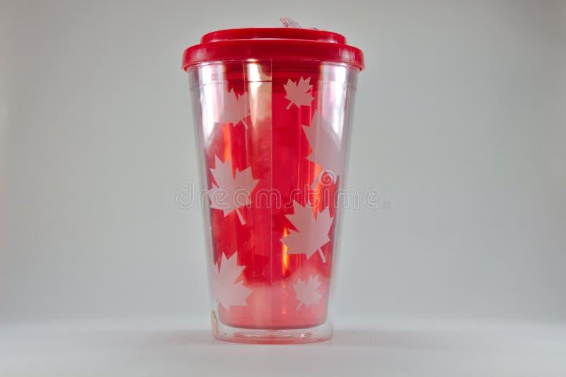 Φλυτζάνι 3080 φύλλων σφενδάμου του Καναδά στοκ εικόνα με δικαίωμα ελεύθερης χρήσης