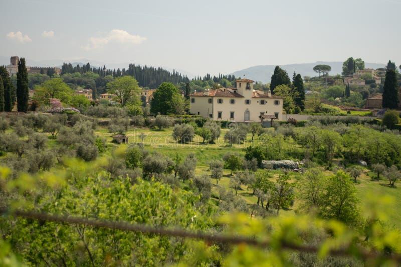 Φλωρεντία, Ιταλία - 23 Απριλίου 2018: Κήποι Boboli, άποψη από στοκ φωτογραφία