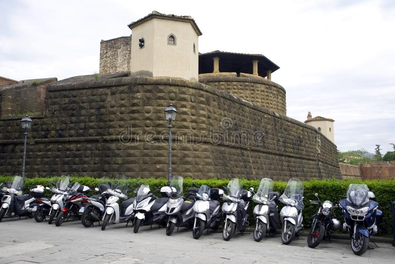 Φλωρεντία Ιταλία φρούριο Bastion στοκ φωτογραφία