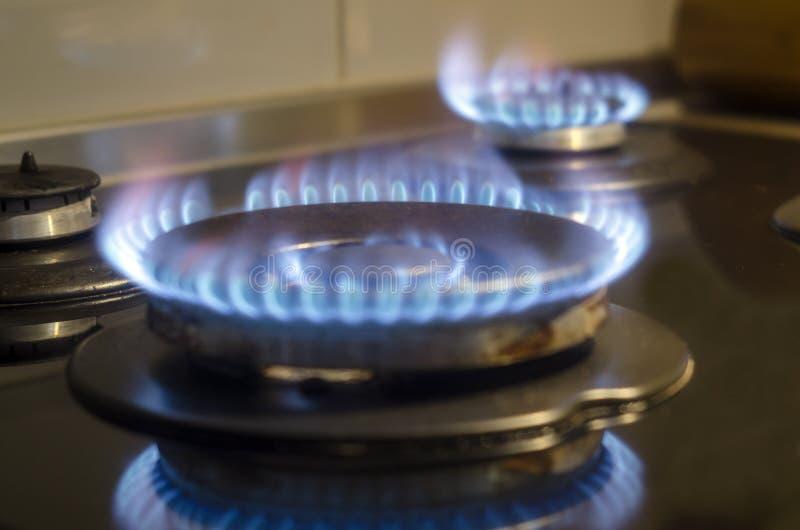 Φλόγα αερίου Blye στοκ εικόνα με δικαίωμα ελεύθερης χρήσης