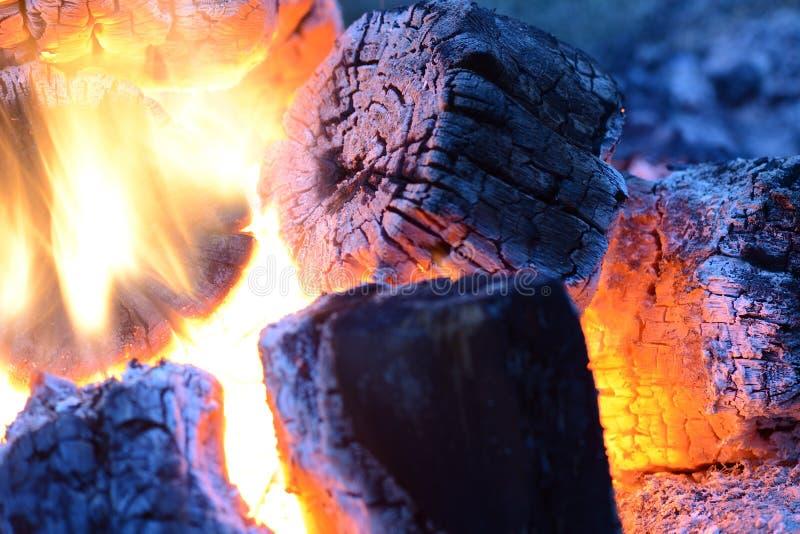 Φλόγα να καψει την πυρκαγιά κοντά επάνω ως υπόβαθρο στοκ εικόνες με δικαίωμα ελεύθερης χρήσης