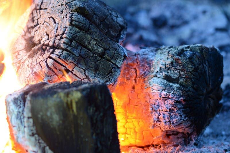 Φλόγα να καψει την πυρκαγιά κοντά επάνω ως υπόβαθρο στοκ εικόνα