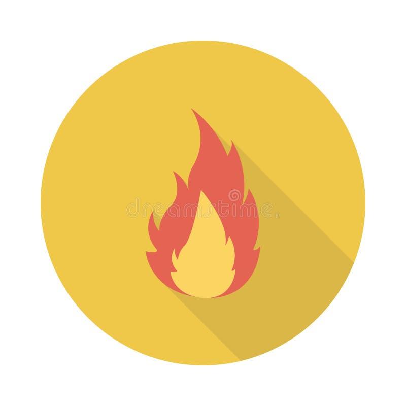 Φλόγα διανυσματική απεικόνιση