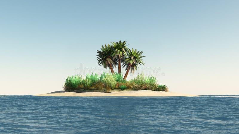 φοίνικες νησιών ελεύθερη απεικόνιση δικαιώματος