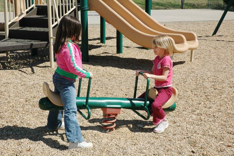 φοβερίστε την παιδική χαρά στοκ εικόνες με δικαίωμα ελεύθερης χρήσης