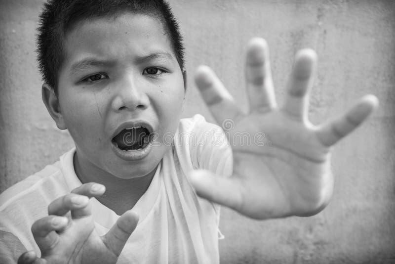 Φοβησμένος και μόνο στοκ φωτογραφίες με δικαίωμα ελεύθερης χρήσης