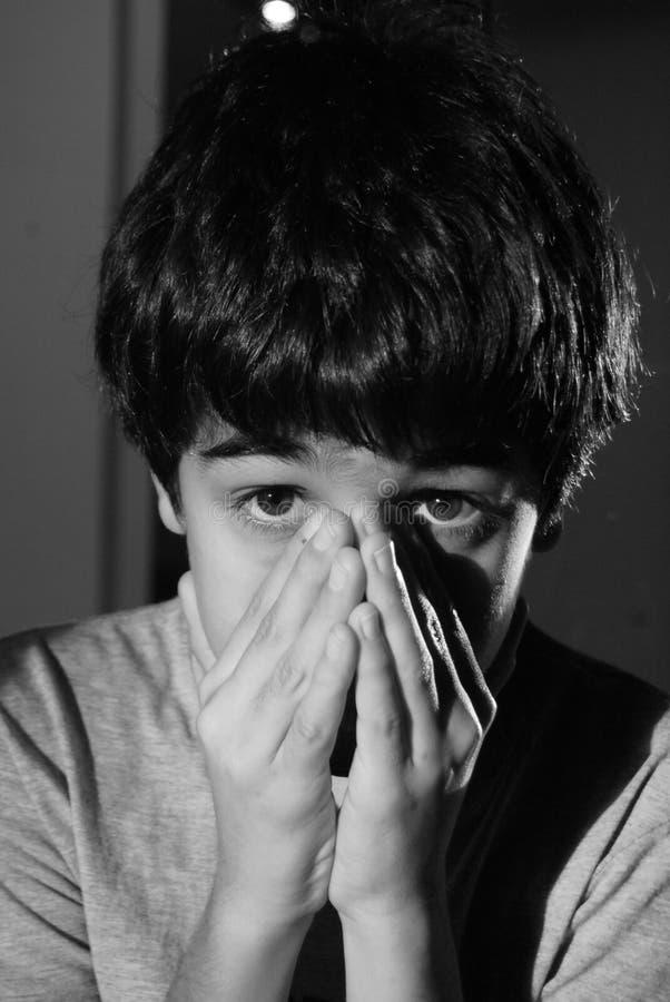 φοβησμένος στοκ φωτογραφία με δικαίωμα ελεύθερης χρήσης