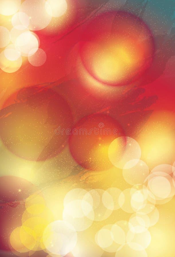 Φοβιτσιάρες αφηρημένο υπόβαθρο ηλιοβασιλέματος ελεύθερη απεικόνιση δικαιώματος