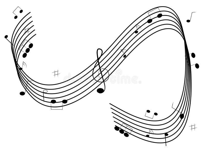 φοβιτσιάρης μουσική ανα&sig ελεύθερη απεικόνιση δικαιώματος