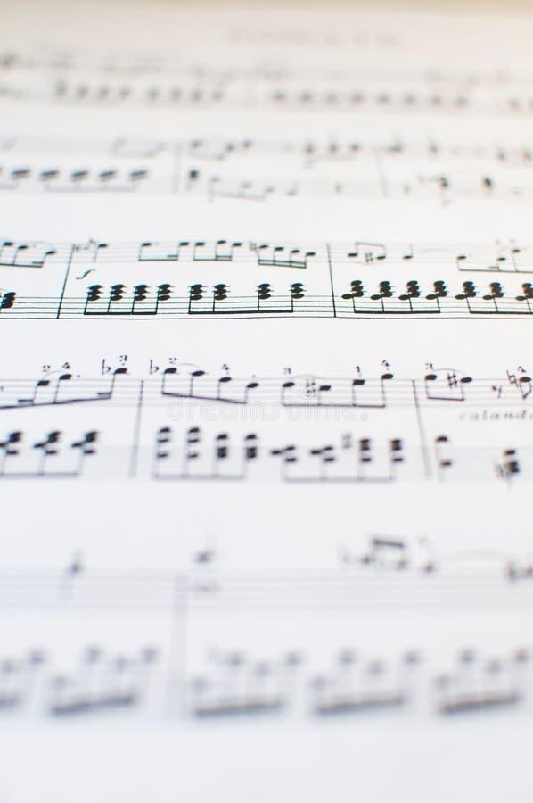 φοβιτσιάρης μουσική ανα&sig στοκ φωτογραφία με δικαίωμα ελεύθερης χρήσης
