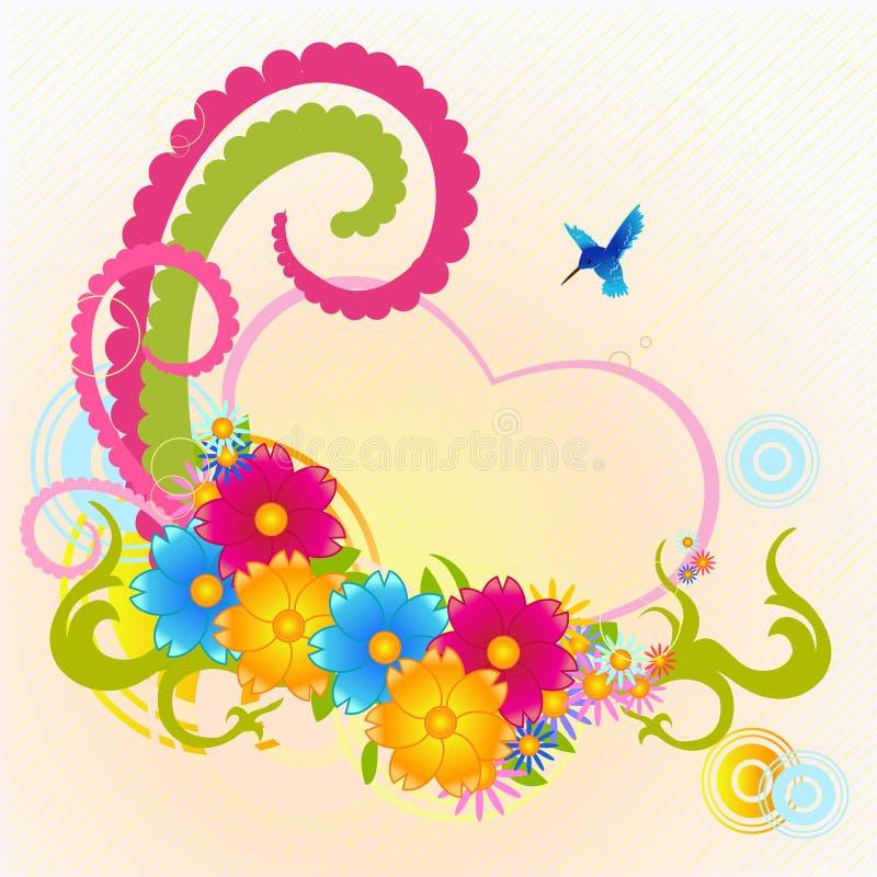 Φοβιτσιάρη λουλούδια ελεύθερη απεικόνιση δικαιώματος