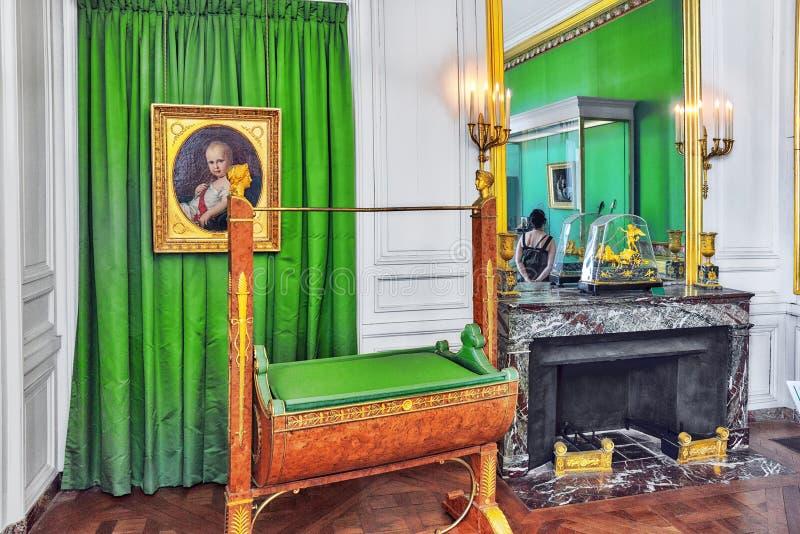 ΦΟΝΤΕΝΜΠΛΩ, ΓΑΛΛΙΑ - 9 ΙΟΥΛΊΟΥ 2016: Παλάτι INT του Φοντενμπλώ στοκ φωτογραφίες με δικαίωμα ελεύθερης χρήσης