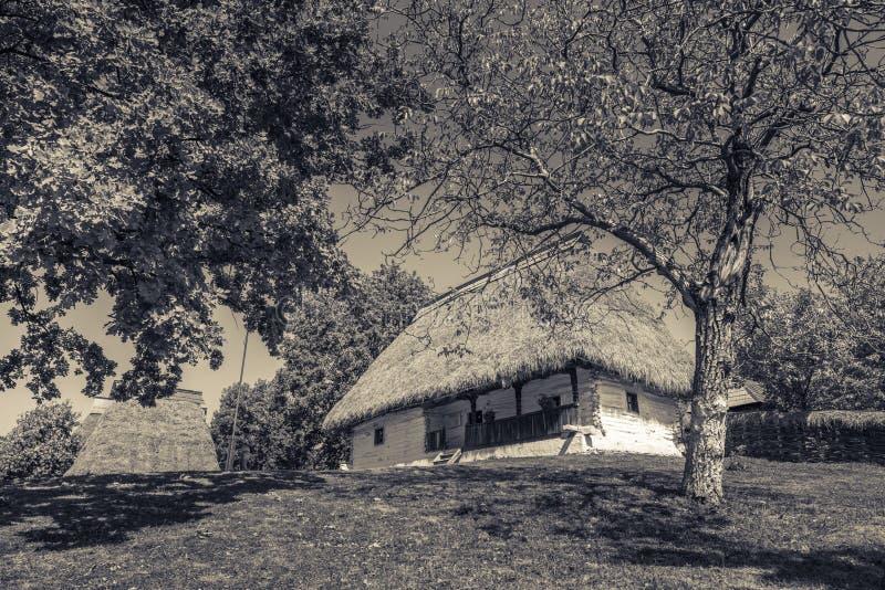 Φοράδα Satului DIN Baia Muzeul - παράδοση, πάλι στοκ φωτογραφία