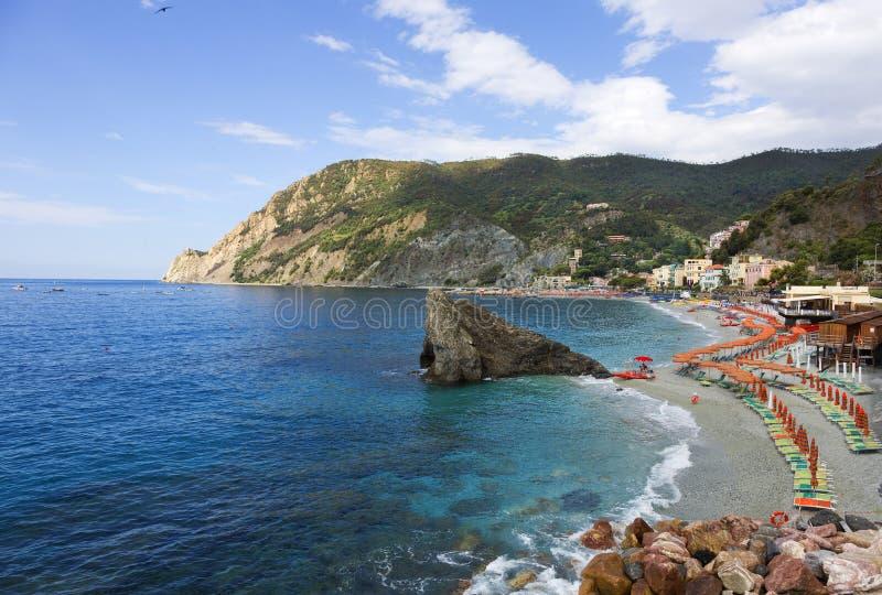Φοράδα Al Monterosso, Cinque Terra, Ιταλία στοκ φωτογραφία με δικαίωμα ελεύθερης χρήσης