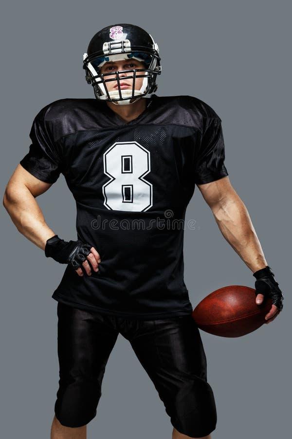Φορέας αμερικανικού ποδοσφαίρου στοκ εικόνα με δικαίωμα ελεύθερης χρήσης