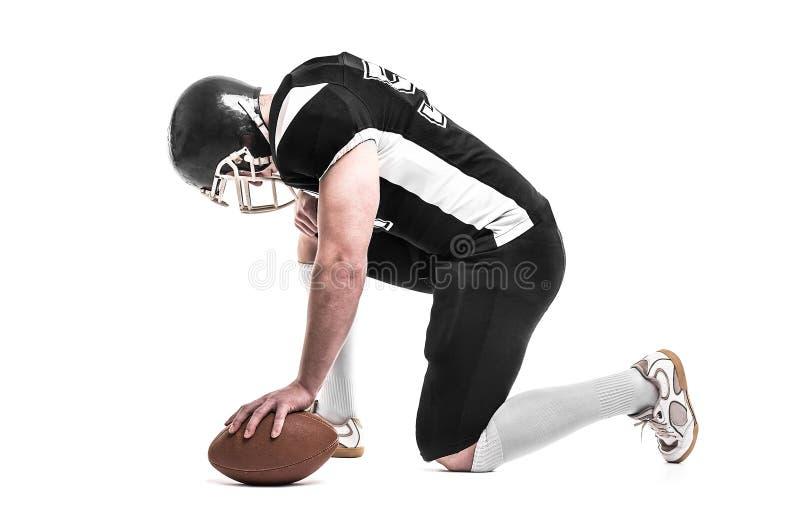 φορέας αμερικανικού ποδοσφαίρου στοκ φωτογραφία