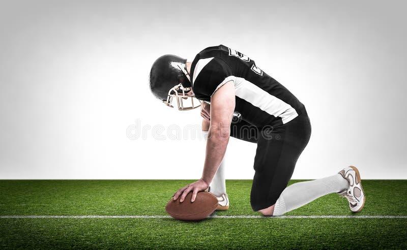Download φορέας αμερικανικού ποδοσφαίρου Στοκ Εικόνες - εικόνα από σκιαγραφία, καυκάσιος: 62701022