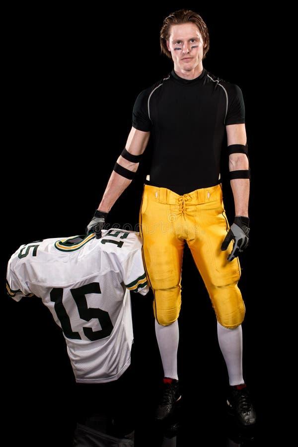 φορέας αμερικανικού ποδοσφαίρου στοκ φωτογραφίες με δικαίωμα ελεύθερης χρήσης