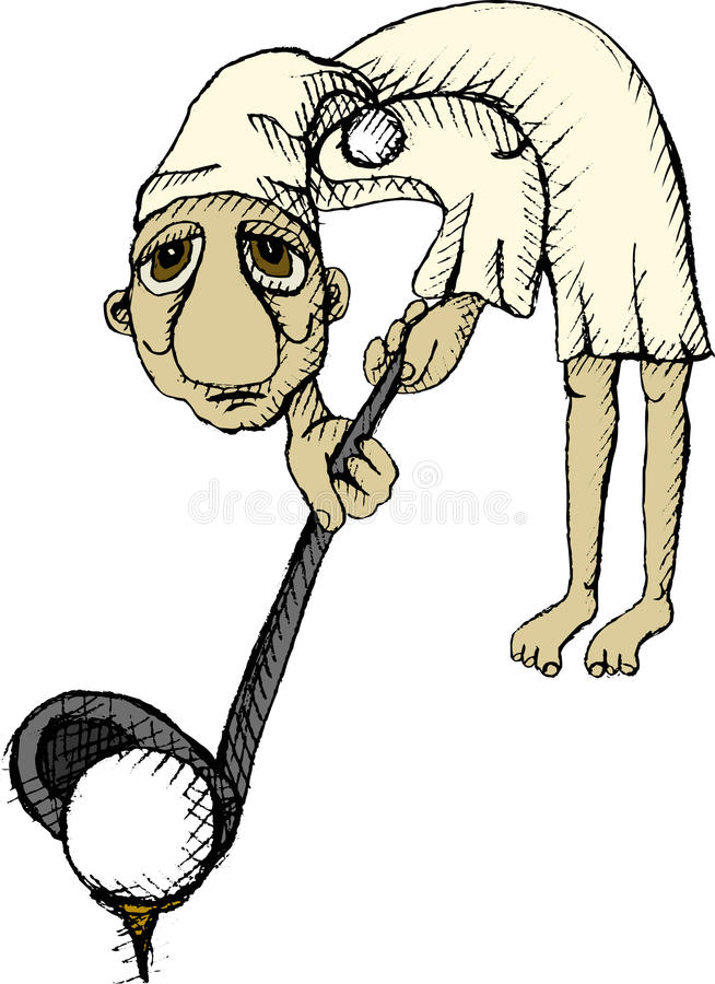 Download φορέας γκολφ διανυσματική απεικόνιση. εικονογραφία από σχέδιο - 22789029