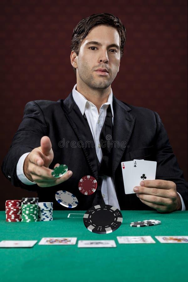 Φορέας πόκερ στοκ εικόνες με δικαίωμα ελεύθερης χρήσης