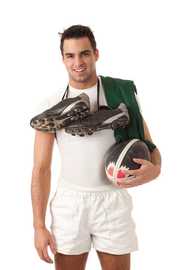 Φορέας ράγκμπι στοκ φωτογραφία