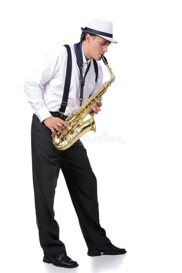 Φορέας Saxophone στοκ εικόνα