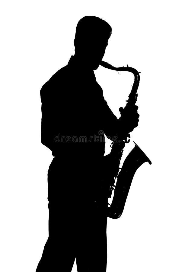 Φορέας Saxophone στοκ φωτογραφία με δικαίωμα ελεύθερης χρήσης
