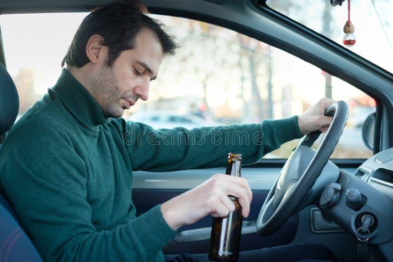 Φορέστε την εκστρατεία ποτών και κίνησης ` τ Μεθυσμένος και οδηγώντας ένα αυτοκίνητο με ένα BO στοκ φωτογραφία