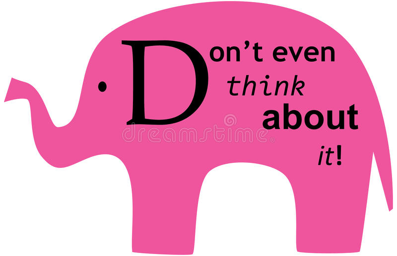 φορέστε τον ελέφαντα που απεικόνιση αποθεμάτων