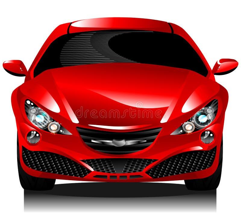 φορείο έννοιας αυτοκινή&ta διανυσματική απεικόνιση