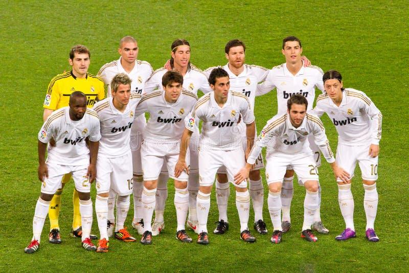 Φορείς της Real Madrid στοκ φωτογραφία με δικαίωμα ελεύθερης χρήσης