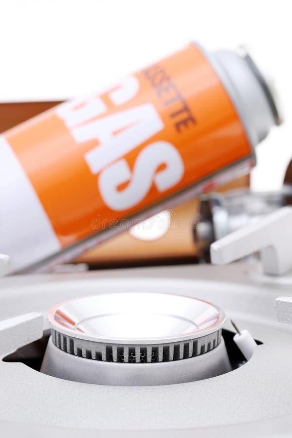 Φορητή σόμπα αερίου στοκ εικόνα με δικαίωμα ελεύθερης χρήσης