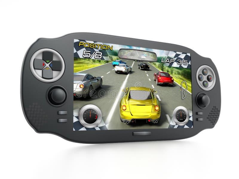 Φορητή τηλεοπτική συσκευή παιχνιδιών απεικόνιση αποθεμάτων