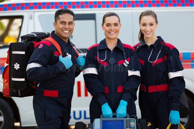 Φορητοί εξοπλισμοί Paramedics στοκ φωτογραφία με δικαίωμα ελεύθερης χρήσης