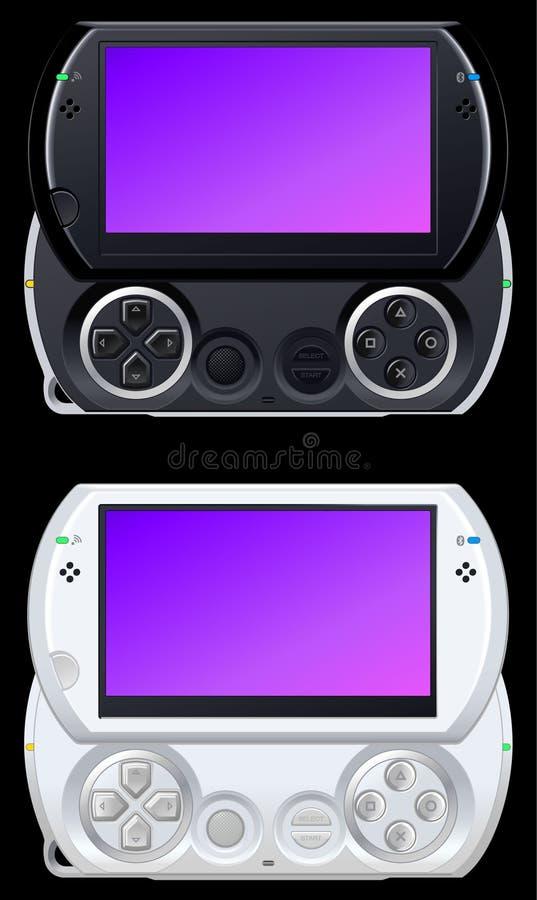 φορητό βίντεο παιχνιδιών κ&omicr απεικόνιση αποθεμάτων