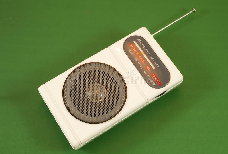 φορητό ραδιόφωνο στοκ φωτογραφίες με δικαίωμα ελεύθερης χρήσης