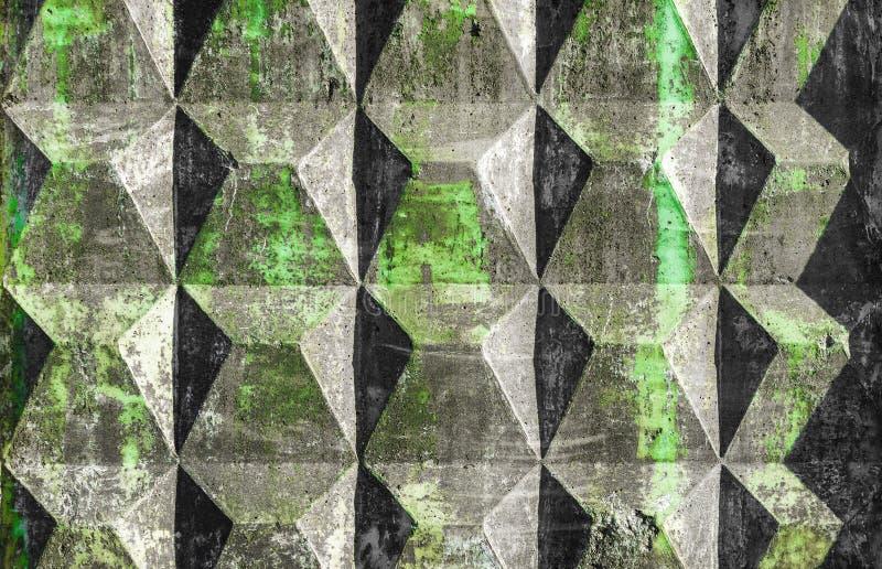 Φορμαρισμένος ενισχυμένος συγκεκριμένος φράκτης διανυσματική απεικόνιση