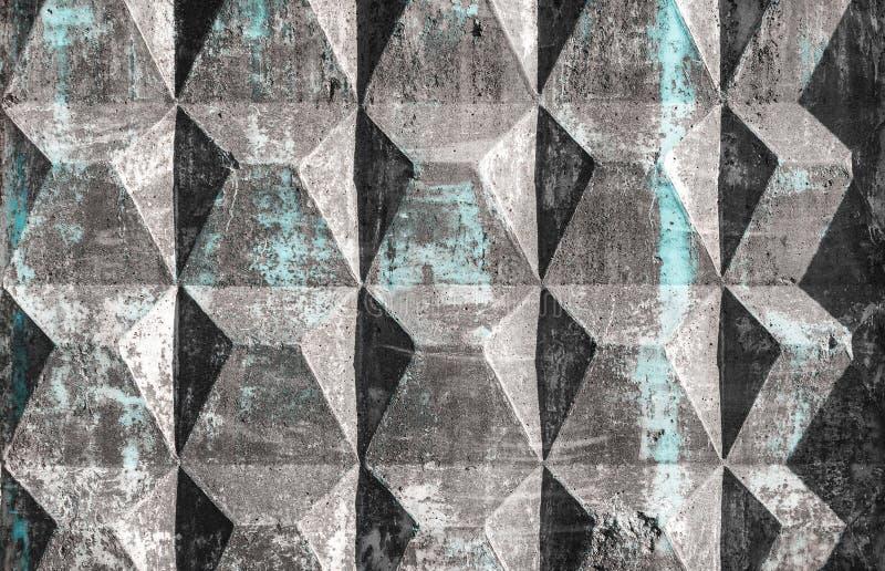 Φορμαρισμένος ενισχυμένος συγκεκριμένος φράκτης ελεύθερη απεικόνιση δικαιώματος