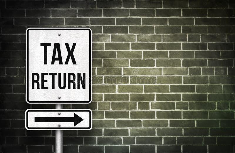 Φορολογική επιστροφή ελεύθερη απεικόνιση δικαιώματος