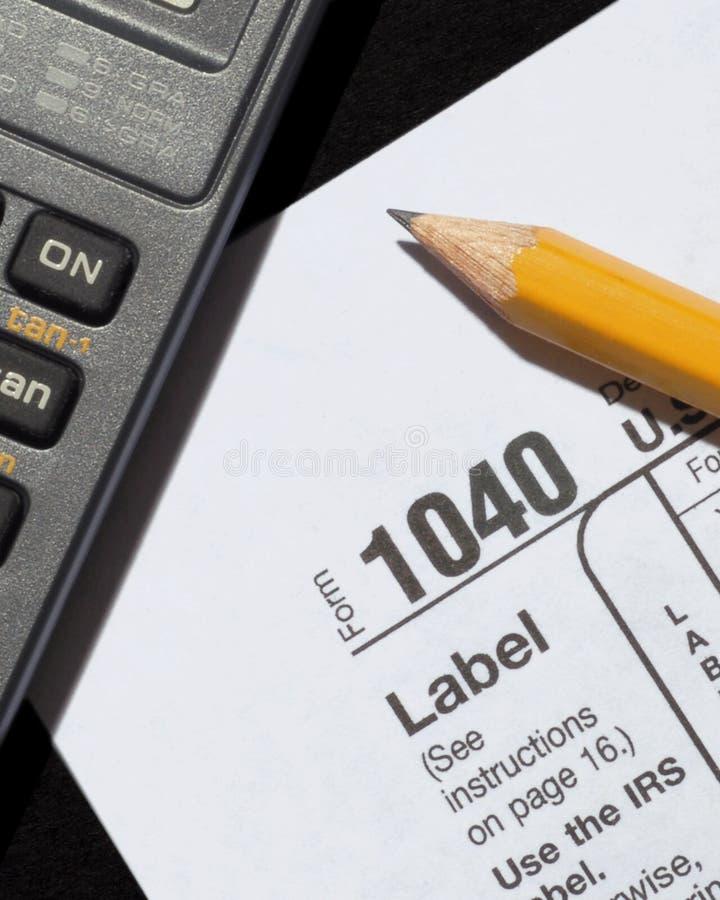 φορολογικός χρόνος στοκ φωτογραφίες