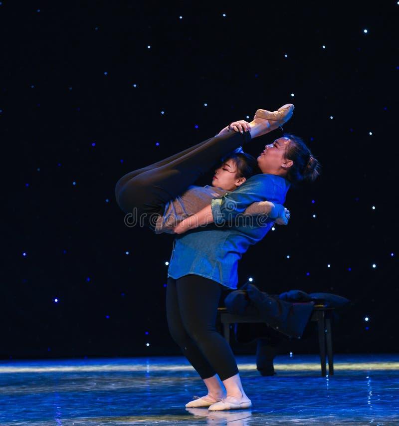 Φορτίο του αγάπη-σύγχρονου χορού στοκ εικόνες