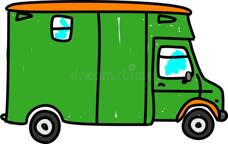 φορτηγό αλόγων ελεύθερη απεικόνιση δικαιώματος