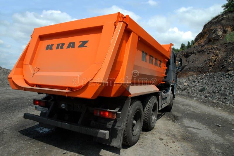 Φορτηγό απορρίψεων KrAZ στοκ φωτογραφία με δικαίωμα ελεύθερης χρήσης