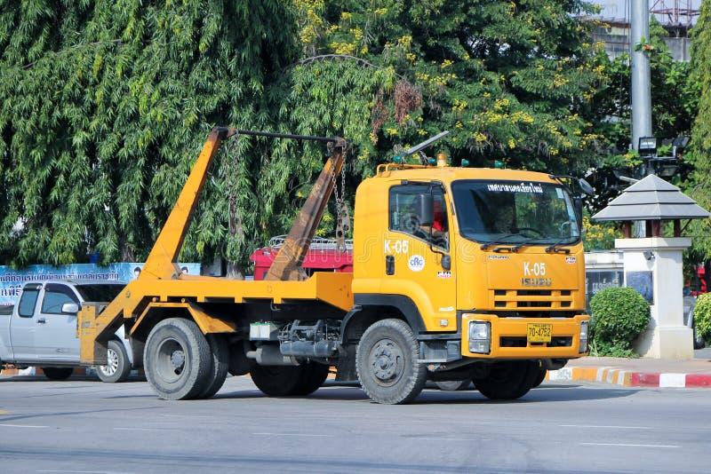 Φορτηγό απορριμάτων στοκ φωτογραφία