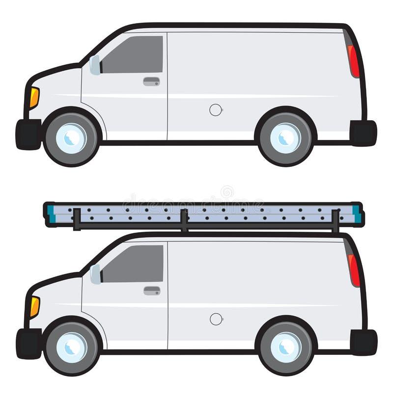 Φορτηγό εργασίας ελεύθερη απεικόνιση δικαιώματος