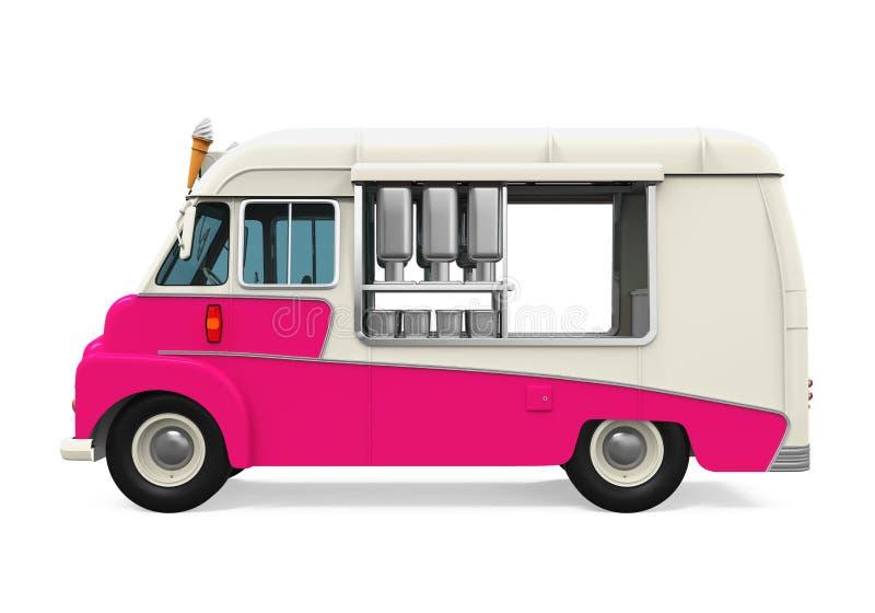 Φορτηγό παγωτού διανυσματική απεικόνιση
