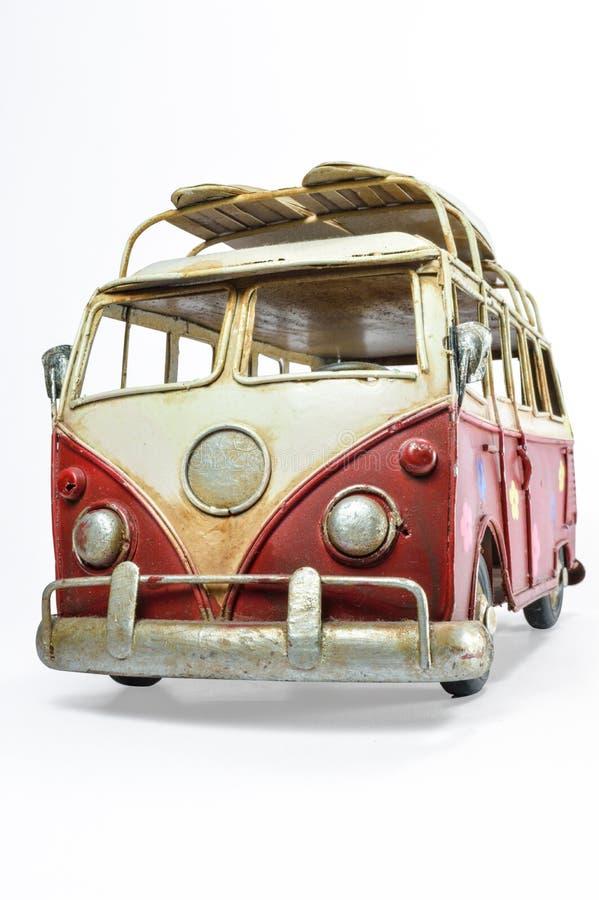 Φορτηγό παιχνιδιών μετάλλων στοκ φωτογραφία με δικαίωμα ελεύθερης χρήσης