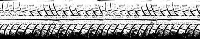 Φορτηγό ροδών διανυσματική απεικόνιση